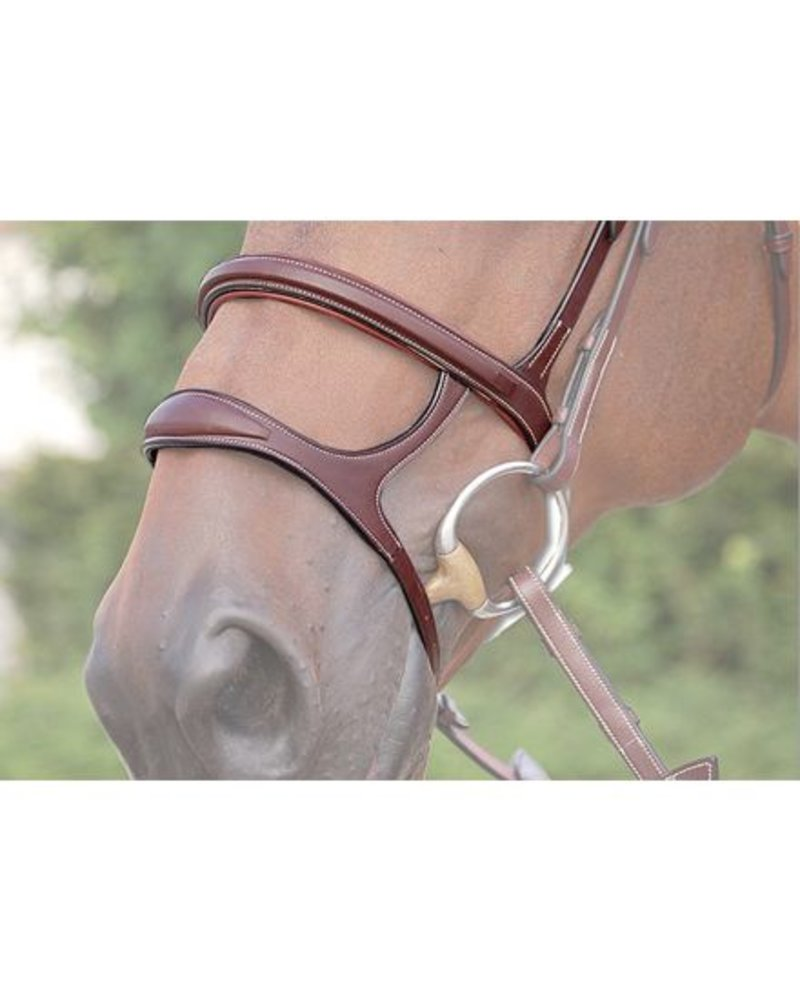 Dy'on Dy'on Double Noseband Brown