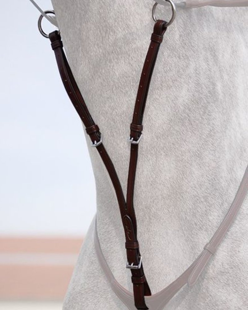 Dy'on New English Collection Running Martingale Attachment Brown