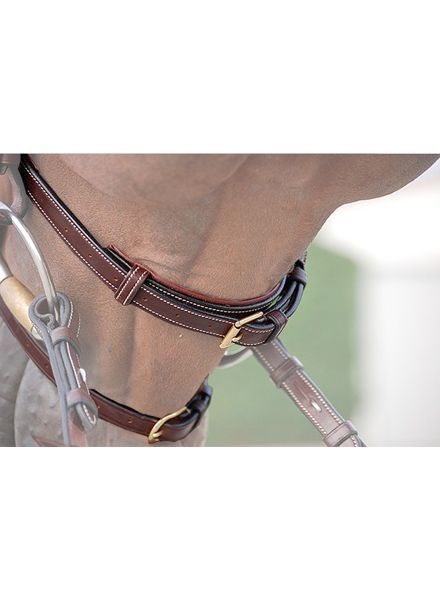 Dy'on New English Collection Double Noseband Brown