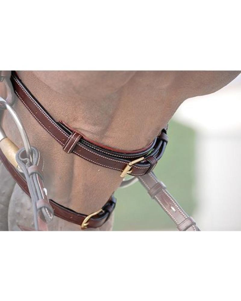 Dy'on New English Collection Double Noseband Black