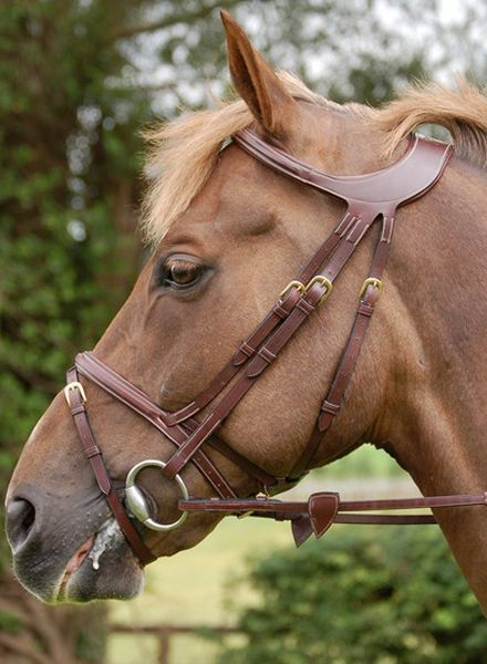 Dy'on Difference Collection Flash Bridle Noseband Black