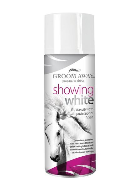 Groom Away Showing White