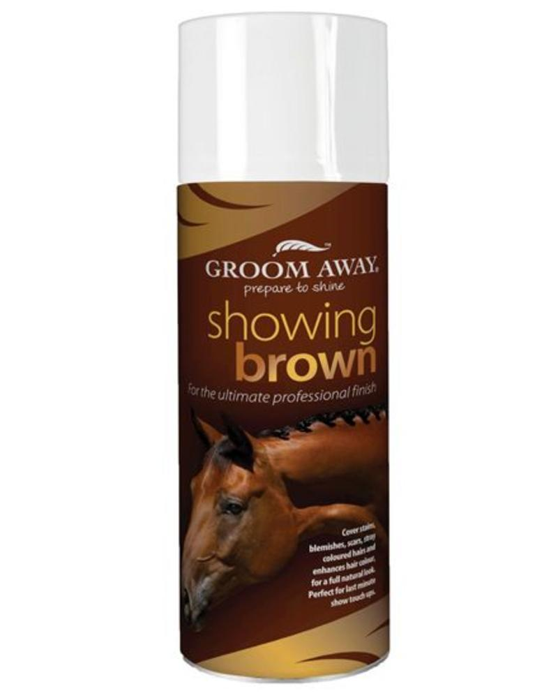 Groom Away Showing Brown