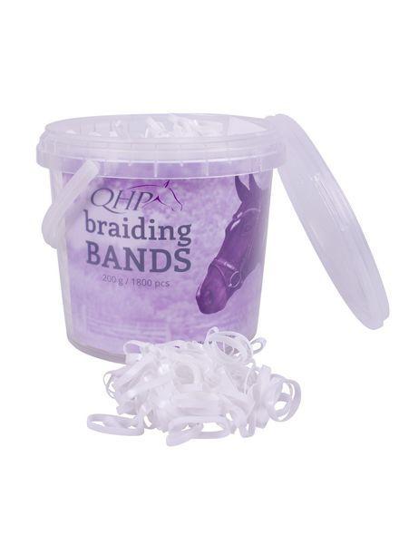 QHP Rubber Braiding Bands Wide