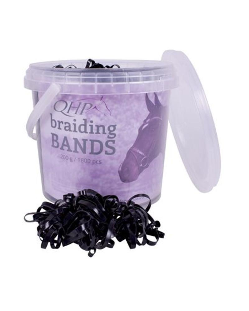 QHP QHP  Rubber Braiding Bands Wide