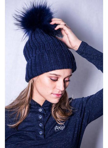 Goldbergh Naara Beanie Dark Navy
