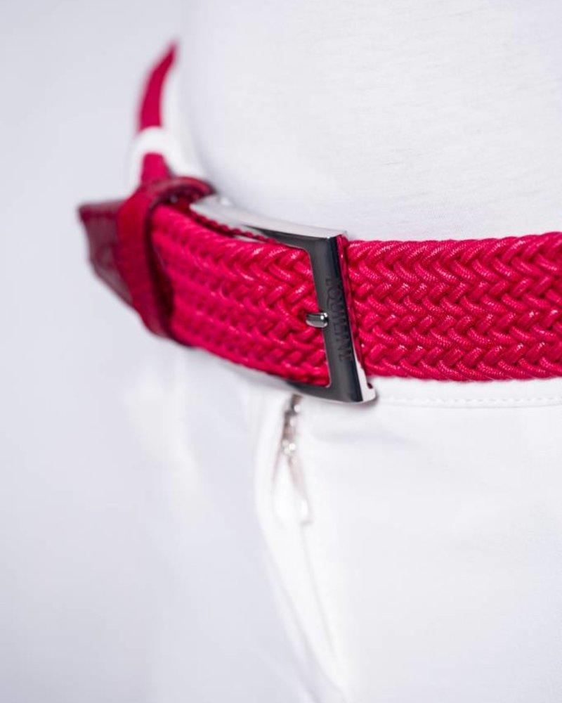 Equiline Elastic Unisex Belt Double Braid