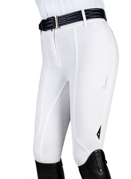 Equiline Women's Full Grip Breeches Patricia White