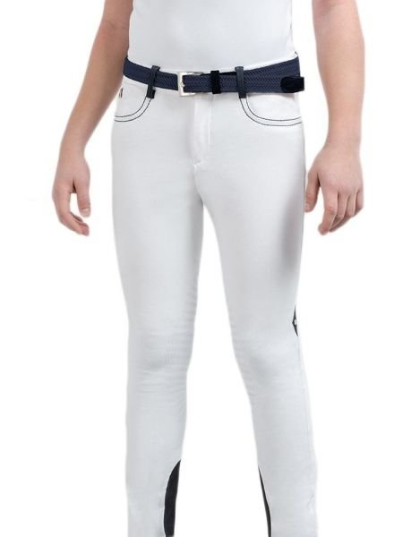 Equiline Boy's X Grip Breeches Luke White