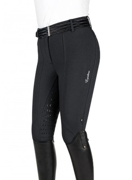 Equiline Women's Full Grip Breeches Patricia Black