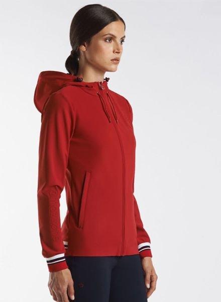 Cavalleria Toscana Tennis Stripe Zip Sweatshirt