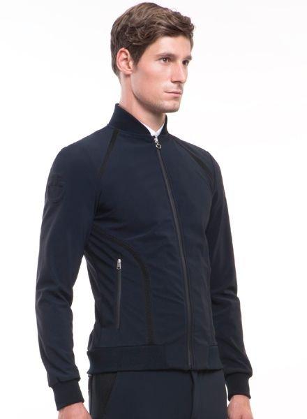 Cavalleria Toscana Mesh Lines Sweat Shirt