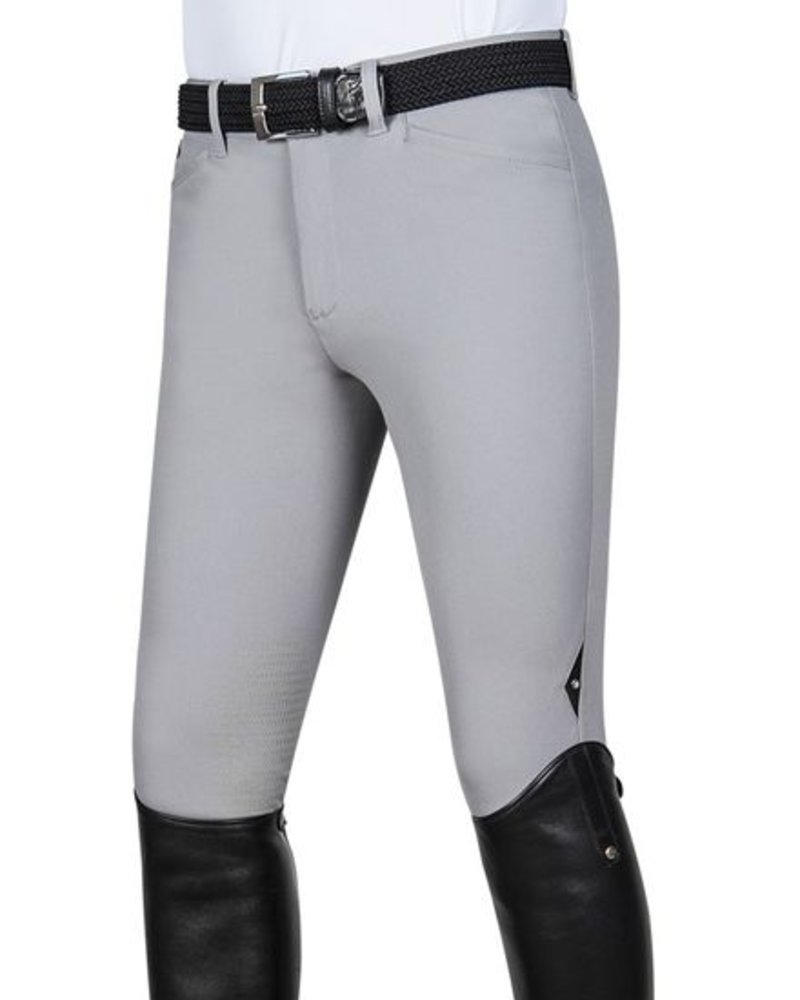Equiline Riding Breeches X-Grip Willow Stone