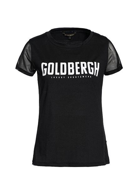 Goldbergh T-shirt Cerridwen Black