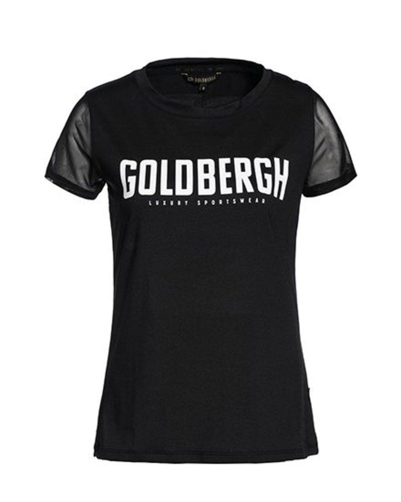 Goldbergh T-shirt Cerridwen Zwart