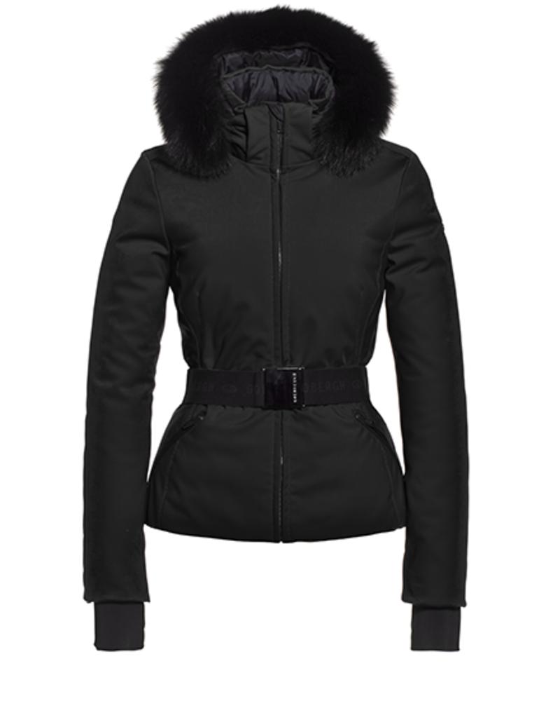 Goldbergh Hida Jacket Fox Fur Black