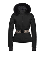 Goldbergh Hida Jacket Fox Fur Black