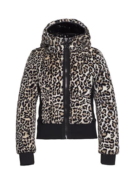 Goldbergh Sunna Jacket Faux Fur Leopard