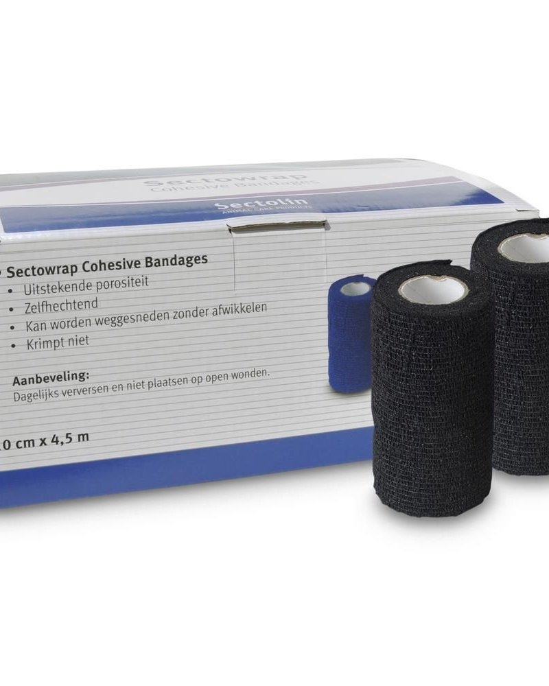 Sectolin Sectolin Sectowrap Cohesive Bandages Black