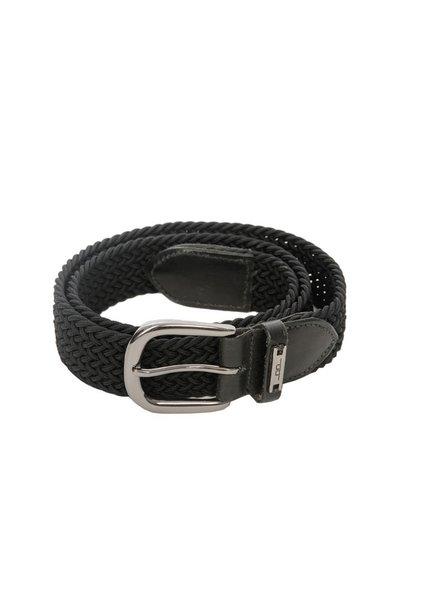 Alessandro Albanese Woven Belt Black