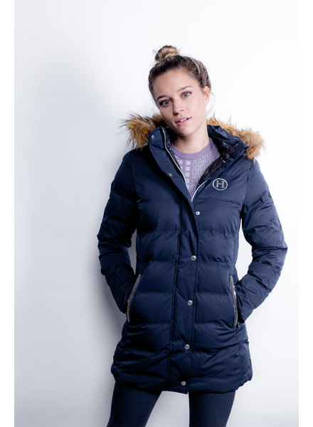 Harcour Clemence Padded Jacket Navy
