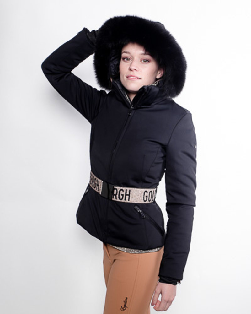 Goldbergh Goldbergh Hida Jacket Fox Fur Black