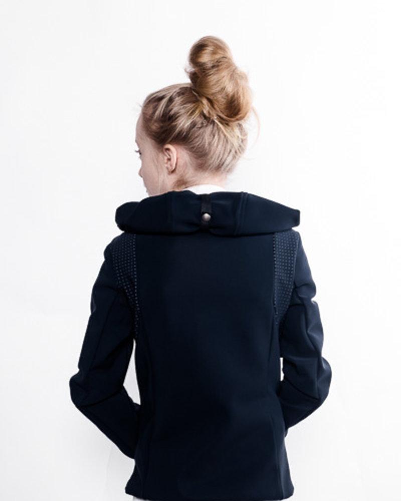 Cavalleria Toscana Cavalleria Toscana Jersey Fleece Hooded Sweatshirt Navy