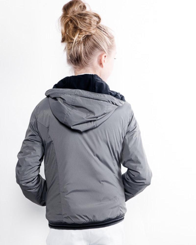 Cavalleria Toscana Cavalleria Toscana Hooded Nylon Zip Jacket