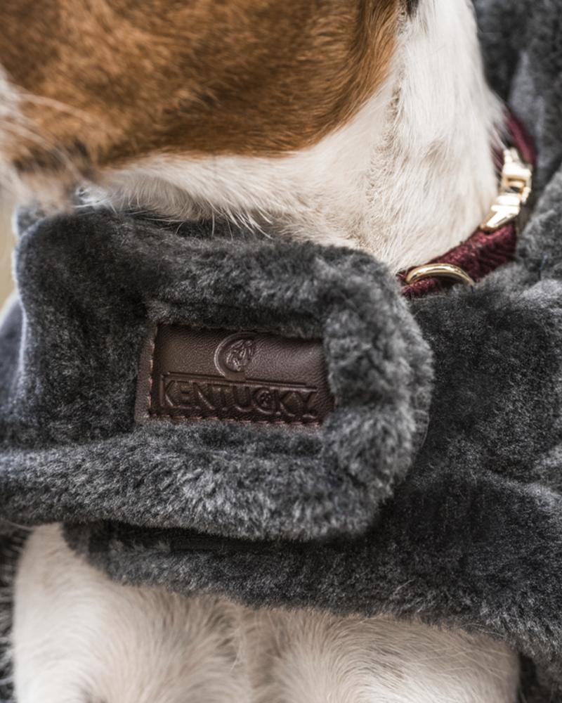 Kentucky Kentucky Dog Coat Fake Fur Grey
