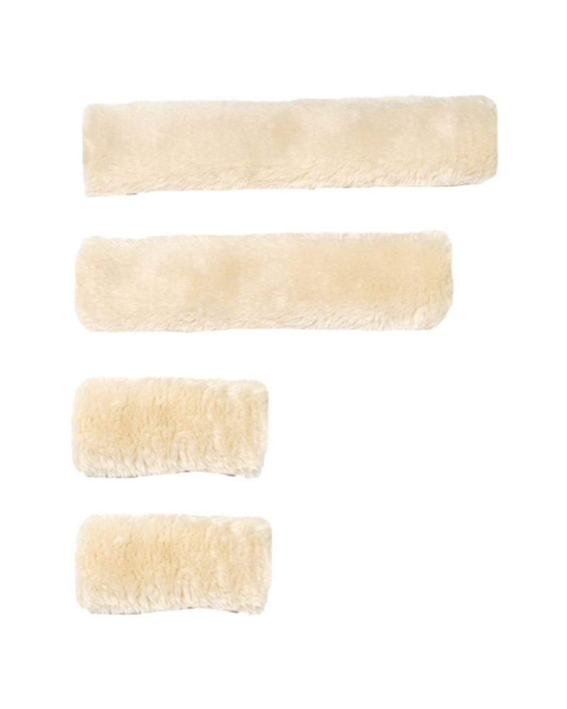 Kentucky Kentucky Sheepskin Halsterset 4 pieces Naturel