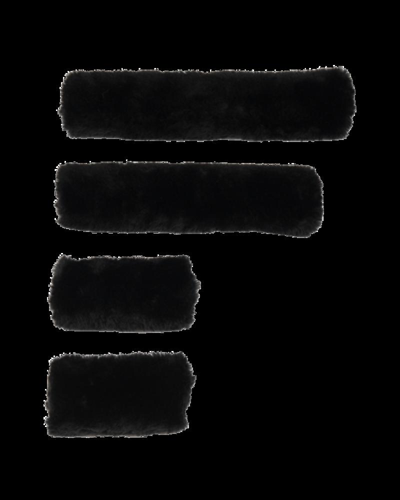 Kentucky Kentucky Sheepskin Halsterset 4 pieces Black