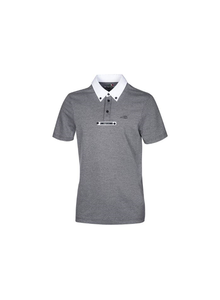 Equiline Competition Polo Aldo Grey Melange