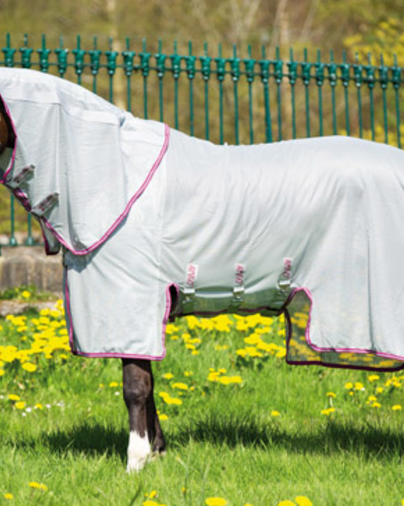 Horseware Amigo Bug Buster Vamoose Silver/Plum