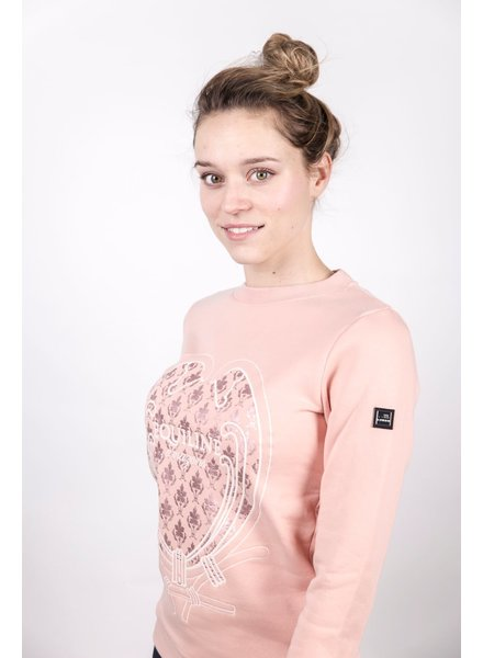 Equiline Sweater Tulip Old Rose