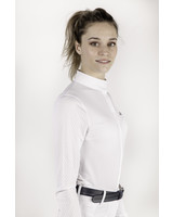 Equiline Women's Competition Shirt L/S White