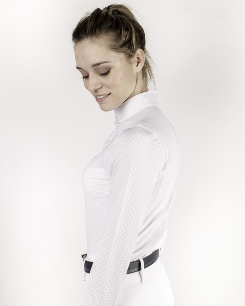 Equiline Equiline Women's Competition Shirt L/S White