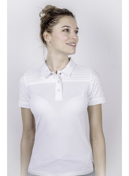 Harcour Women Polo Monaco White