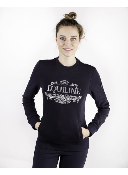 Equiline Women's Sweatshirt Navy