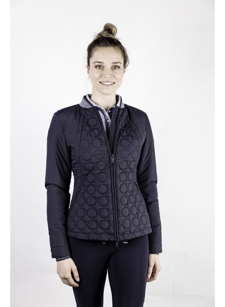 Equiline Women's Padded Jacket Navy