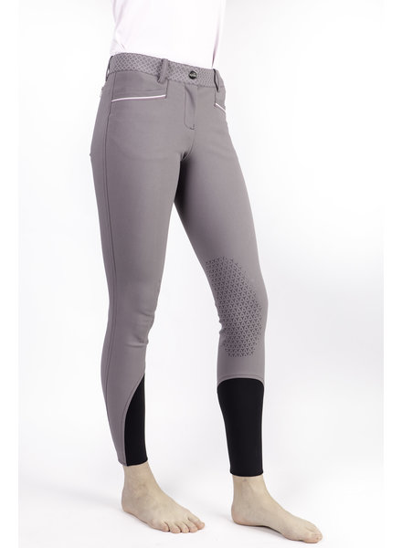 Equiline Women's Knee Grip Breeches Sparrow