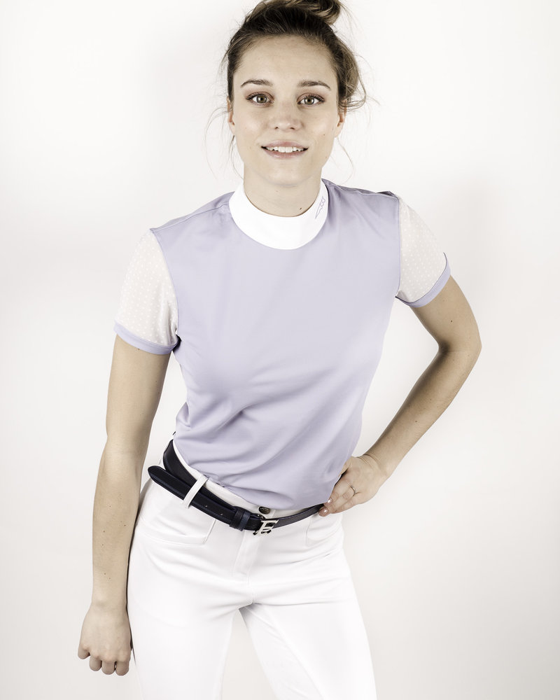 Equiline Equiline Women's Competition Polo Shirt S/S Vapore
