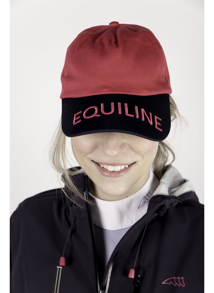 Equiline Baseball Cap Berry