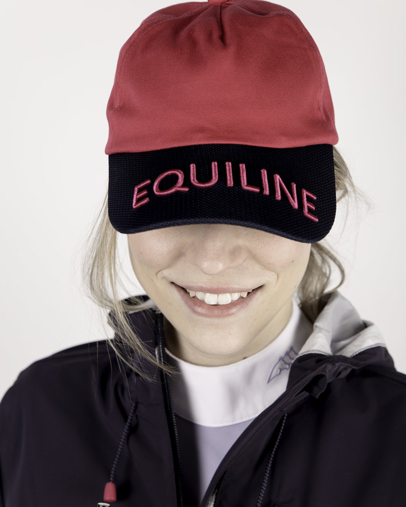Equiline Equiline Baseball Cap Berry