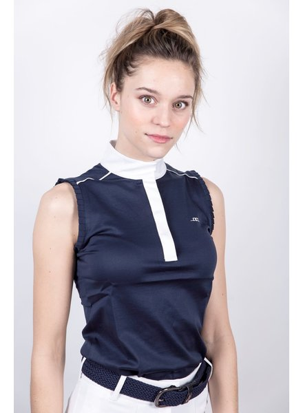 Alessandro Albanese Monza Sleeveless Top Ombre Blue