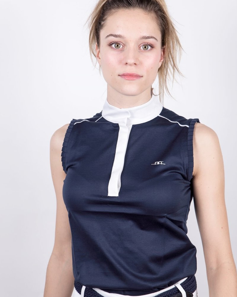 Alessandro Albanese AA Monza Sleeveless Top Ombre Blue