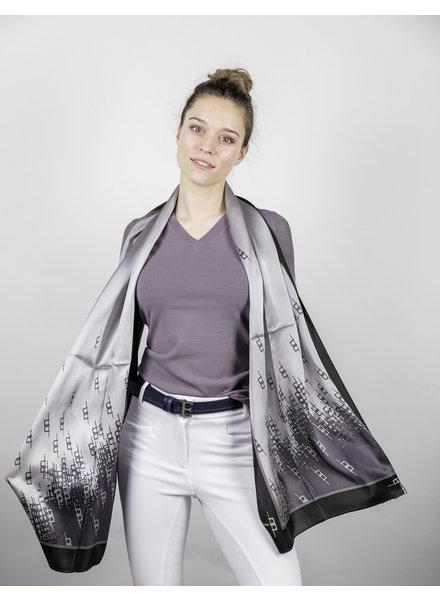 Alessandro Albanese Silk Scarf Grey/Primatova