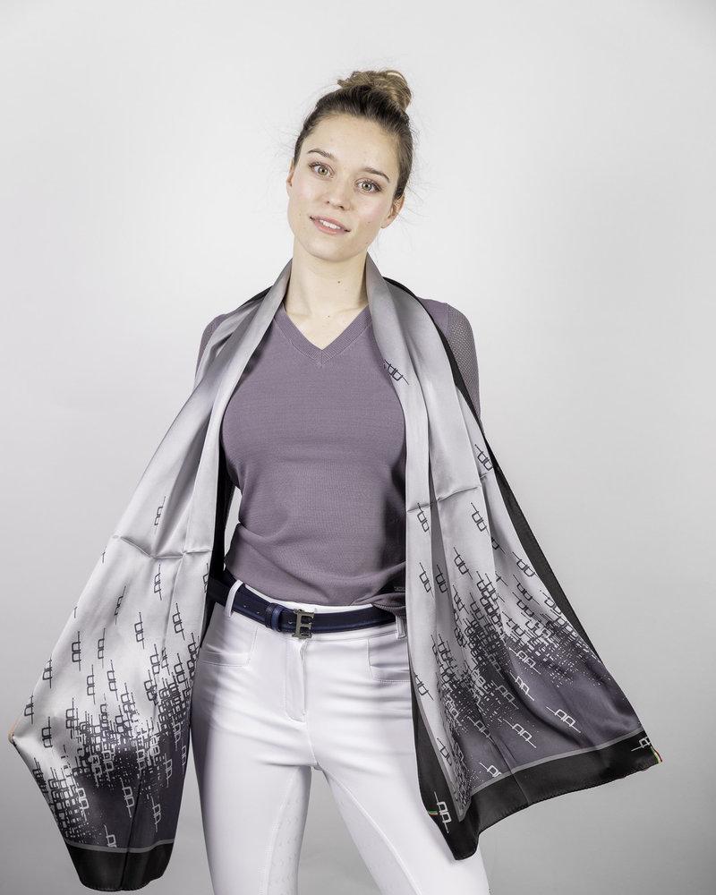 Alessandro Albanese AA Silk Scarf Grey/Primatova