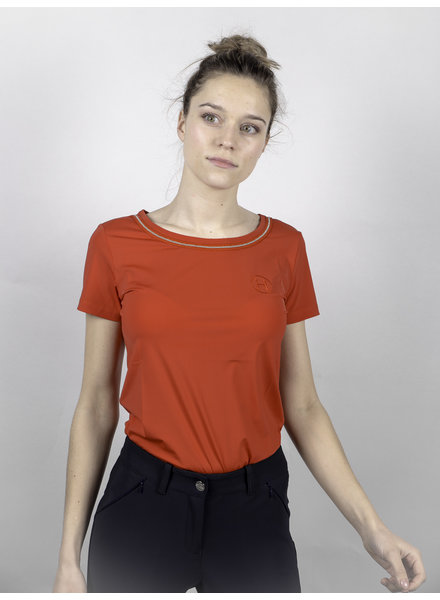 Harcour Women's T-shirt Arcachon Red