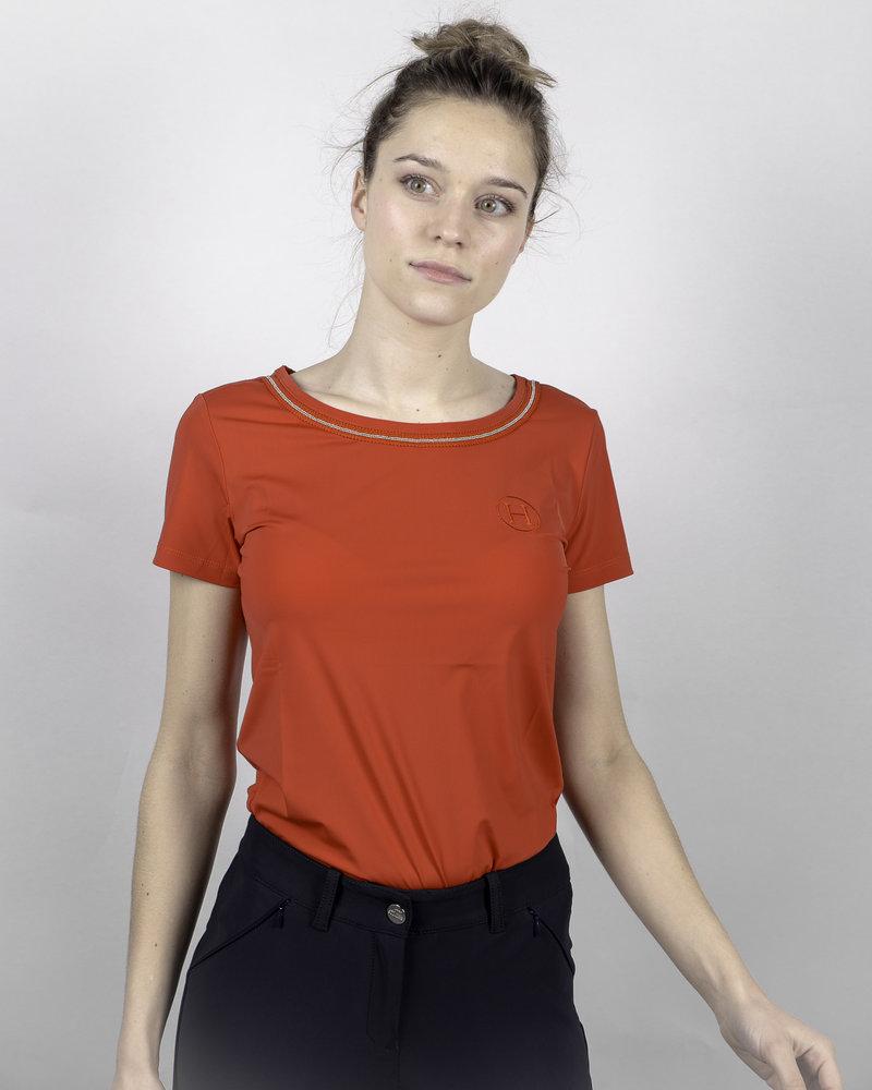 Harcour Harcour Women's T-shirt Arcachon Red