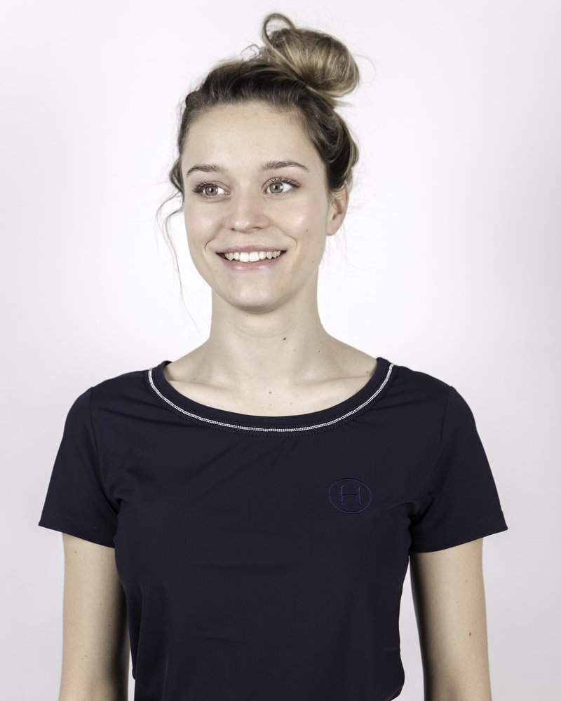 Harcour Harcour Women's T-shirt Arcachon Navy